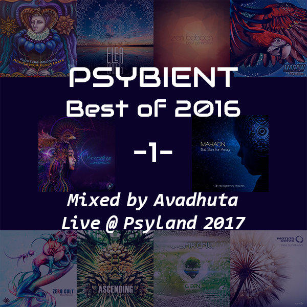 Avadhuta – Psybient: Best of 2016, Vol.1 (Live @ Psyland 2017)