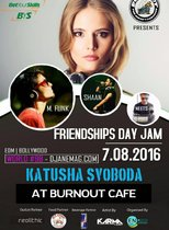 Katusha Svoboda at Burnout Cafe and Lounge's Friendships Day Jam @ Burnout Cafe and Lounge