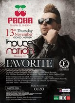 DJ FAVORITE (FASHION MUSIC RECORDS / MOSCOW) @ Pacha