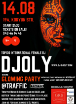 DJ DJoly @ Traffic Club's Glowing Party @ Traffic Club