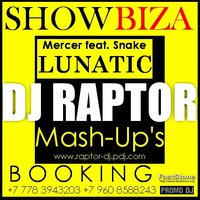 DJ Raptor™ - Mercer feat. Snake - Lunatic (DJ Raptor Mash-up)