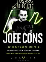 BASS ADDIKT SATURDAYS - FEATURING JOEE CONS @ GRAVITY SOUNDBAR